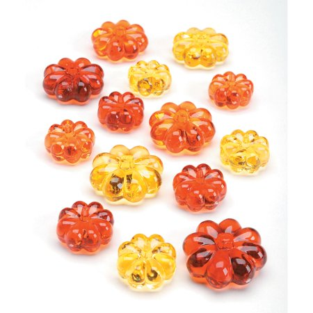 Pumpkin Gems Table Scatter Decorations