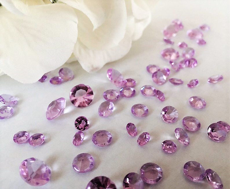 Sparkling Diamond Gems - Vase Decorations and Table Scatters
