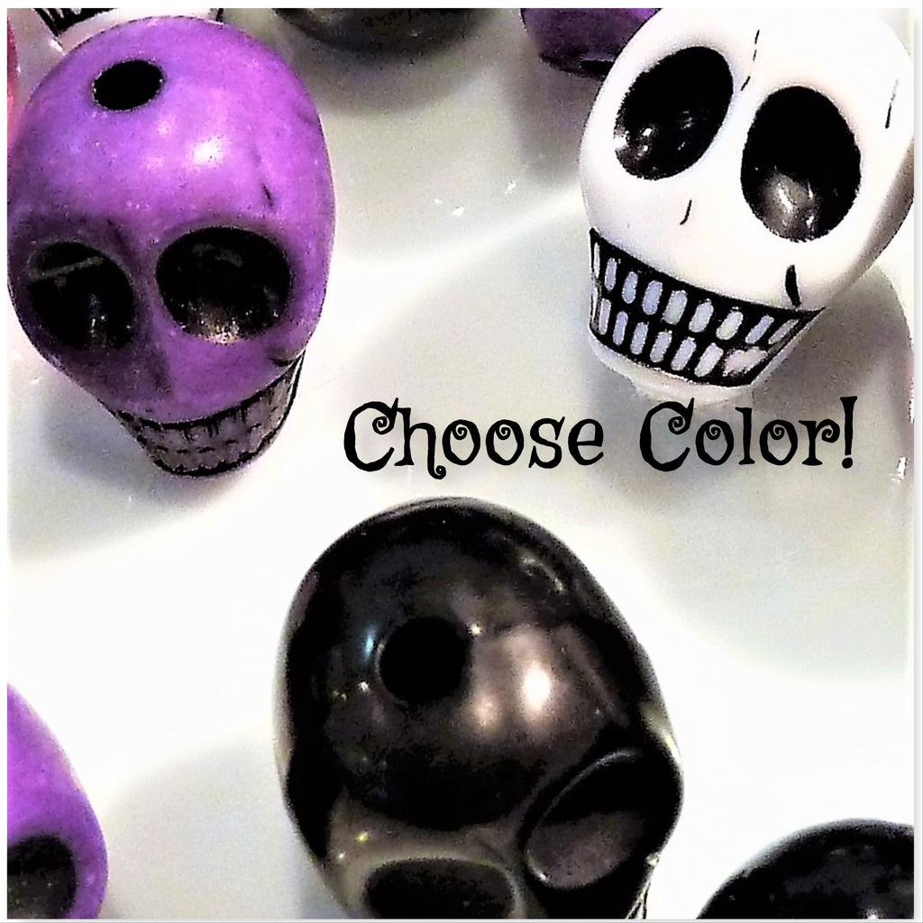 *Clearance* Spooky Skulls - Halloween Vase Decor and Table Scatter