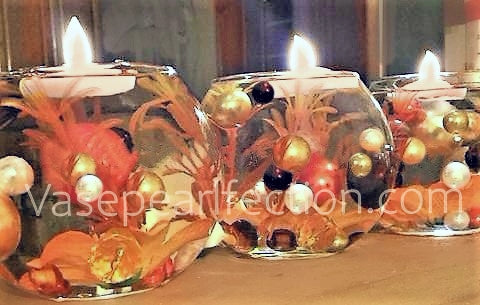 Fall Leaves - Autumn Vase Decorations and Table Scatter