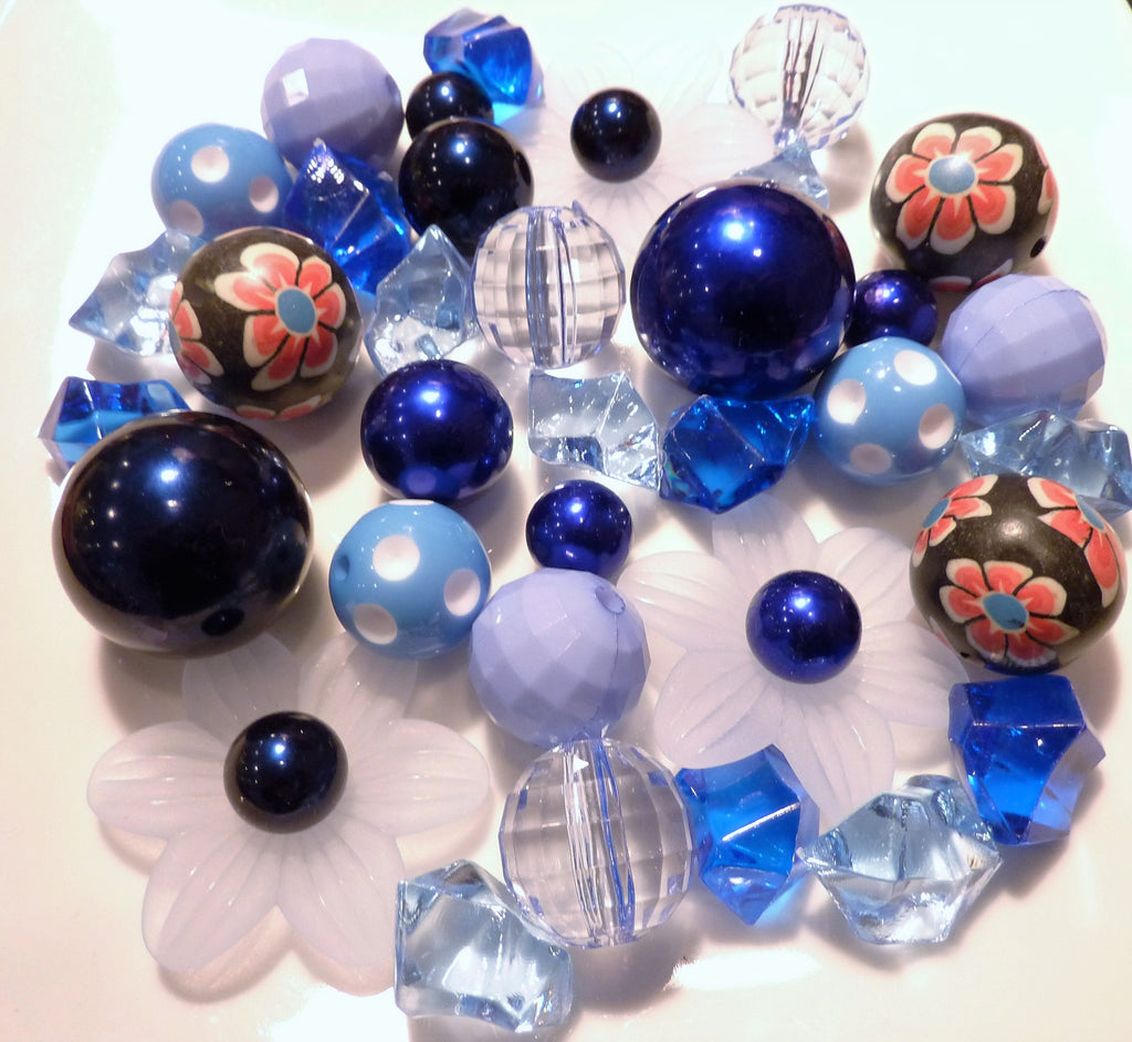 Large Custom Sample Pack of Pearls and/or Gems Vase Decorations
