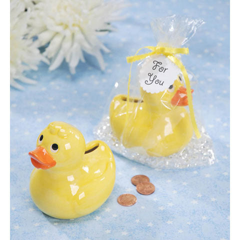*Clearance* Ceramic Duck and Bubble Crystals - Assorted Sizes Vase Fillers for Decorating Centerpieces