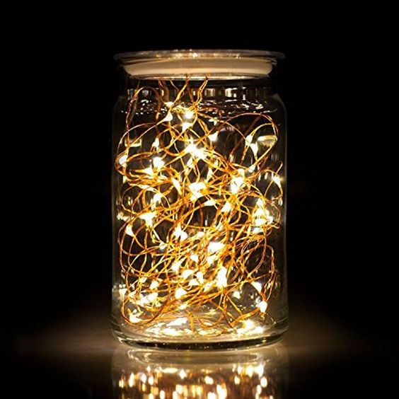 20 Mini–Led Fairy String Lights | White & Warm White