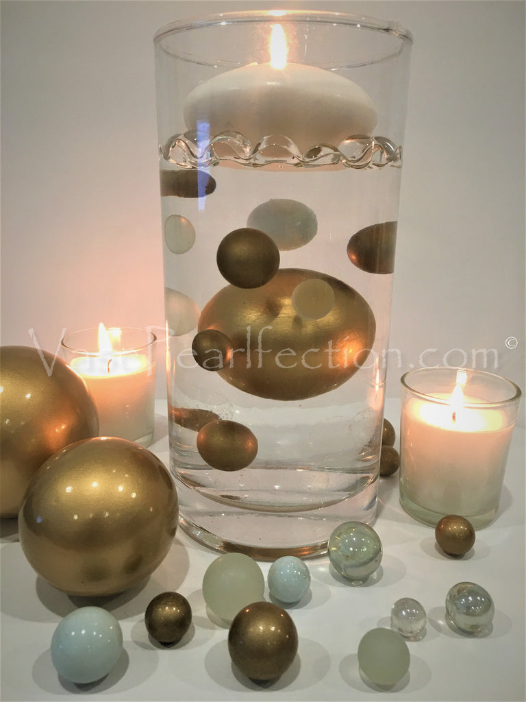 *Clearance* Silver Extra Jumbo Ceramic Sphere - Assorted Sizes Vase Decorations