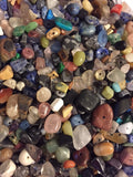 Copy of Copy of 75 Grams  (approx 3 Ounces of Mix Gemstone Chip Beads Size 3mm-8mm Free Shipping,Free Crystal Spacers