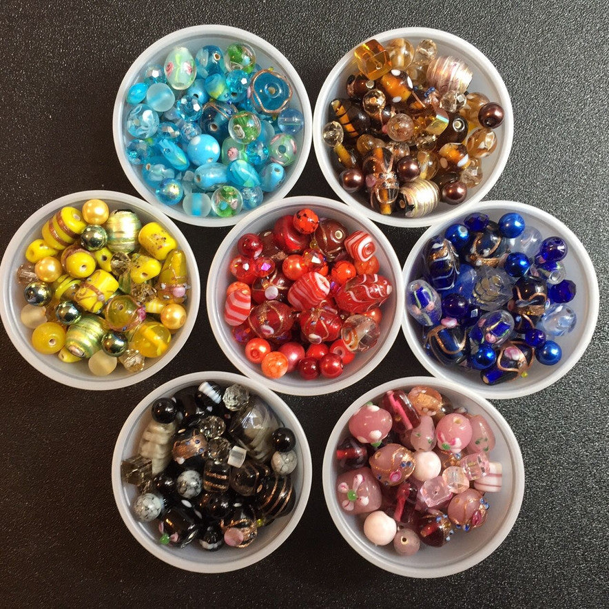 Our Most Popular Fancy Lamp Work Beads