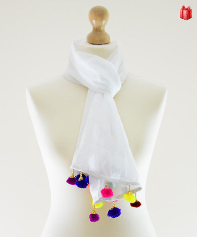Baubles Cotton Scarf