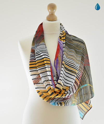 Disco Beat Cotton Scarf