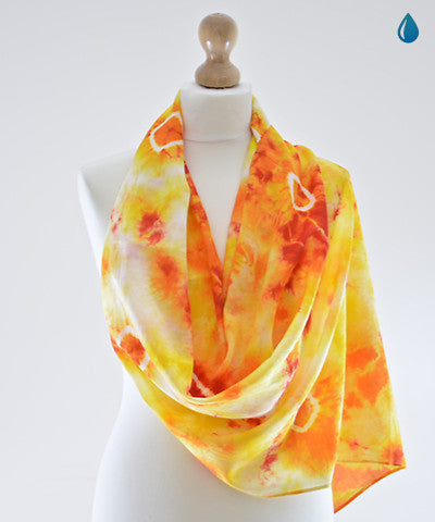 Fireball Cotton Scarf