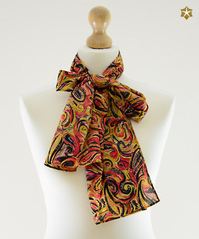 Grand Paisley Silk Scarf