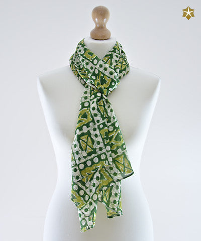 Henna Cotton Scarf
