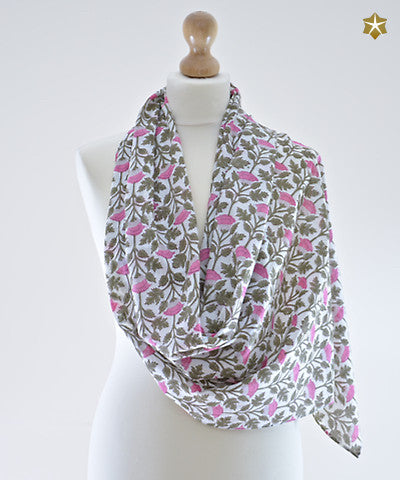 Moghul Cotton Scarf