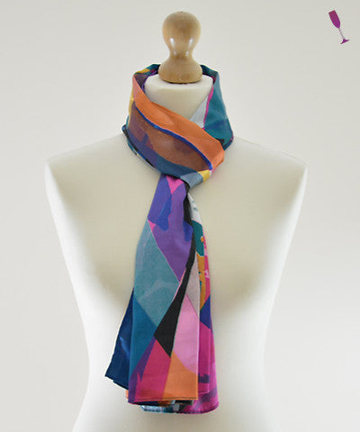 Showtime Satin Scarf