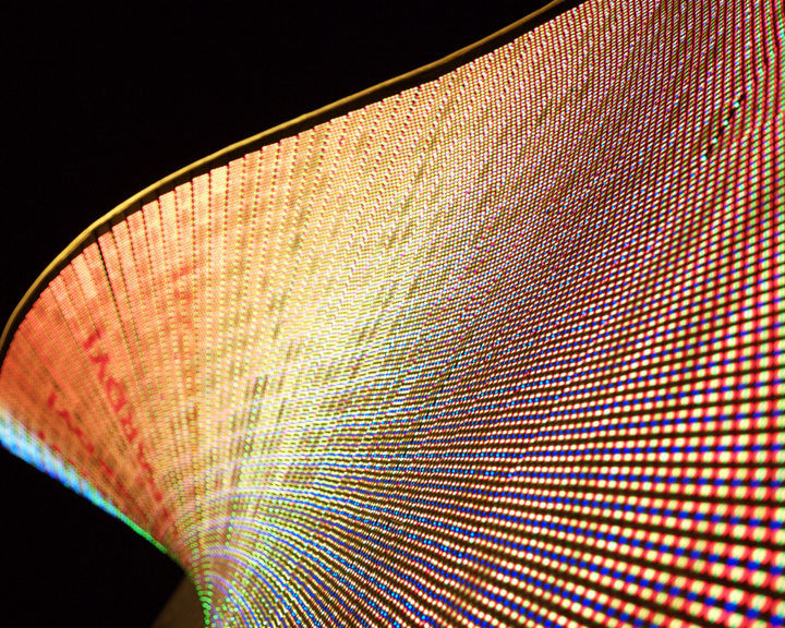 Curved LED Wall