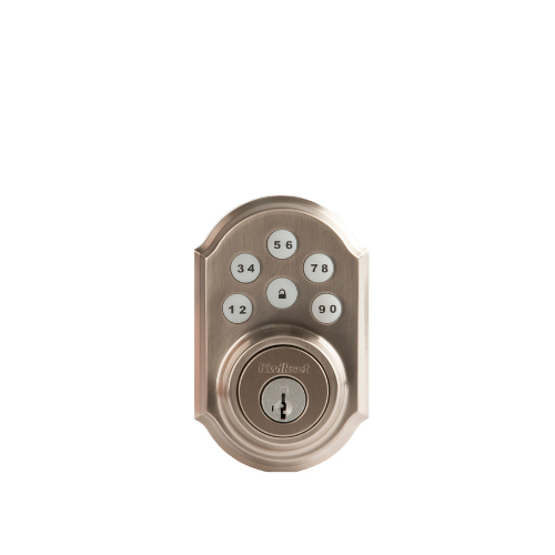 Kwikset Smart Door Lock - Push Button