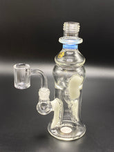 Load image into Gallery viewer, Glow in the Dark Travel Recycler / Moocha Glass