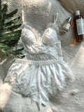 Secret Night Sleepwear Set - White