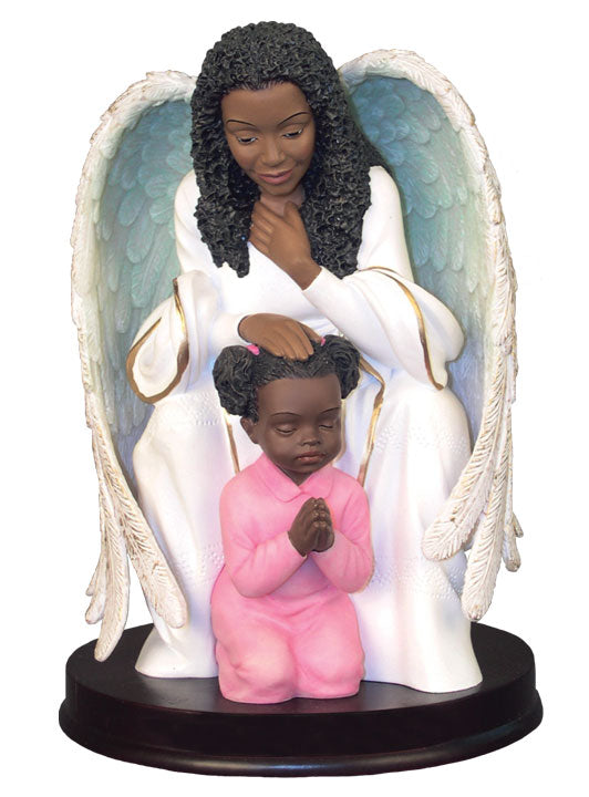Angel - Praying Guardian for Girl