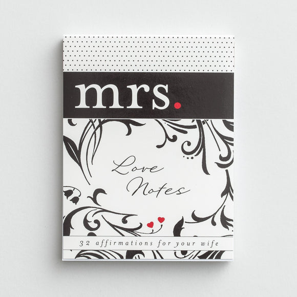 Love Notes - to Mrs.