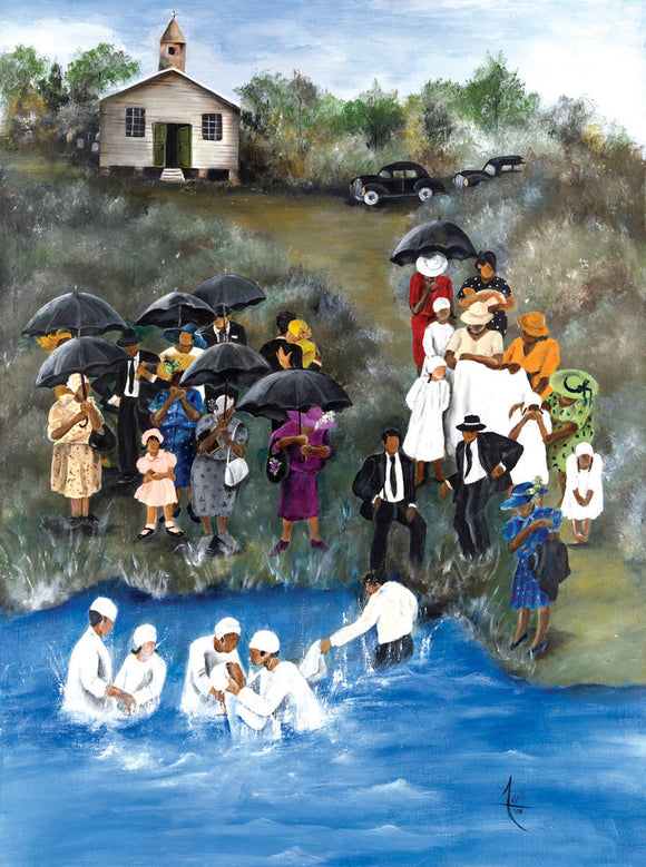 Baptism Puzzle by Artist Annie Lee