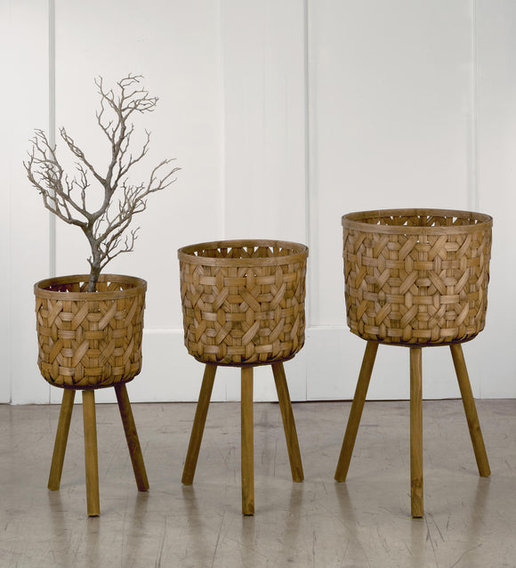 Bamboo Flower Stands