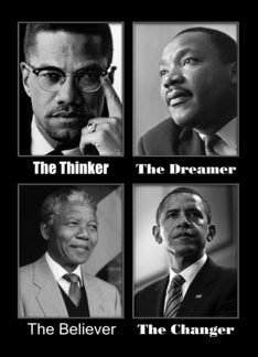 The Thinker, The Dreamer, The Believer, The Changer Greeting Card