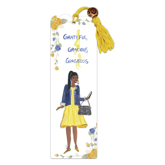 Grateful, Gracious, Gorgoeous Bookmark