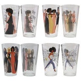 Sister Friends Drinking Glasses