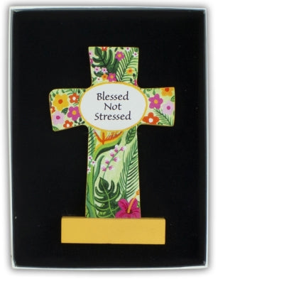 Cross - Blessed Not Stressed