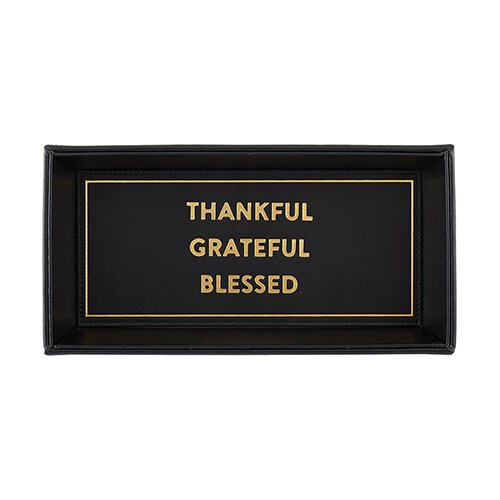 Valet Tray - Thankful Grateful Blessed