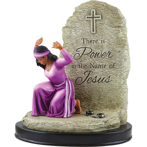 Power in the Name of Jesus Figurine