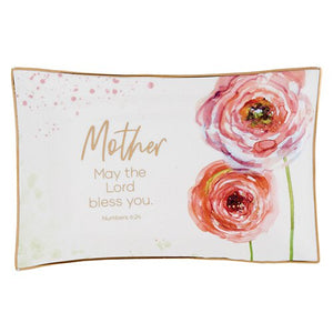 Trinket Tray - Mother, may the Lord bless you -Numbers 6:24