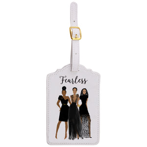 Fearless Luggage Tags