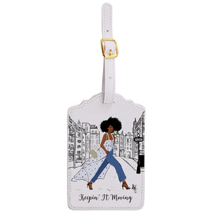Keepin' It Moving Luggage Tags