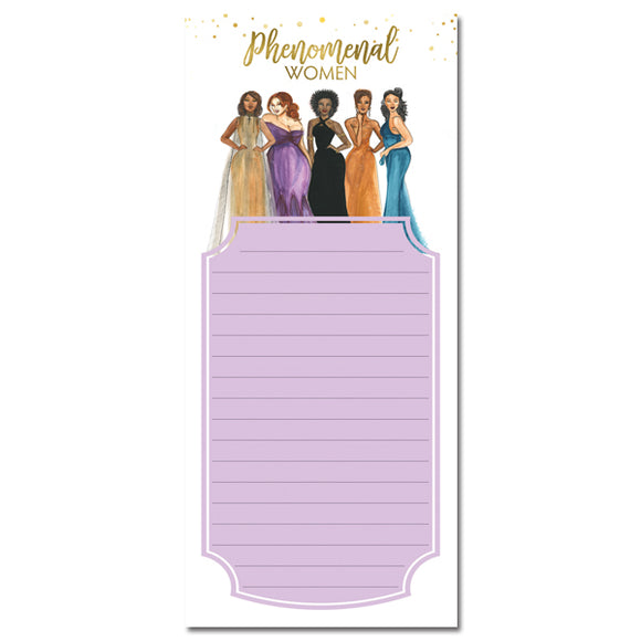 Phenomenal Women Magnetic Note Pad