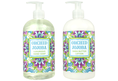 ORCHID JOJOBA Hand Soap/Body Wash & Lotion