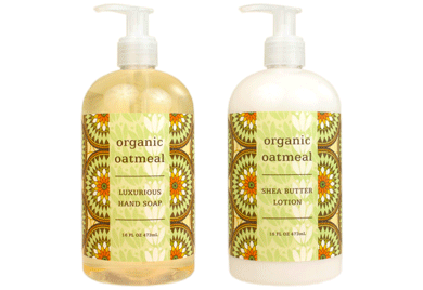 ORGANIC OATMEAL Hand Soap/Body Wash & Lotion