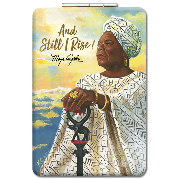 And Still I Rise Compact Mirror
