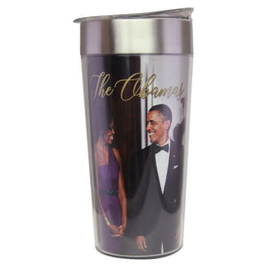The Obamas Travel Cup