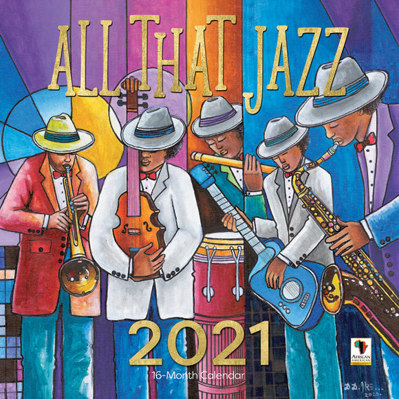 All That Jazz  2021 Calendar