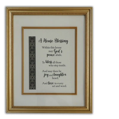 House Blessing Wall Plaque