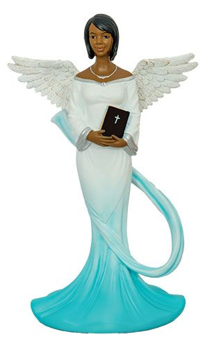 Sash Angel in Cyan