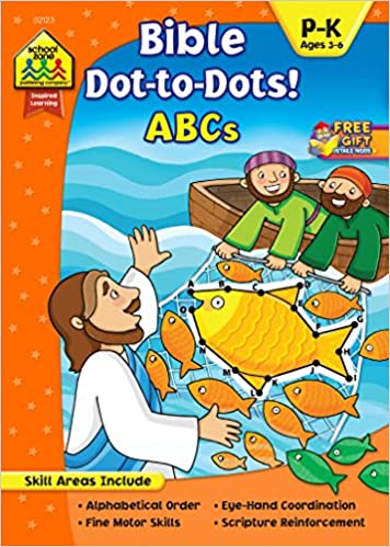Bible Dot to Dots ABCs by Linda Standke