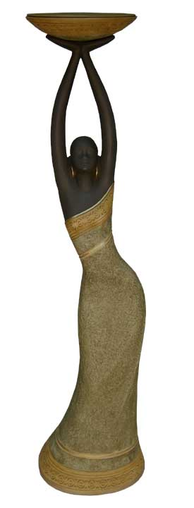 Votive Candleholder - Tribal (Tan)