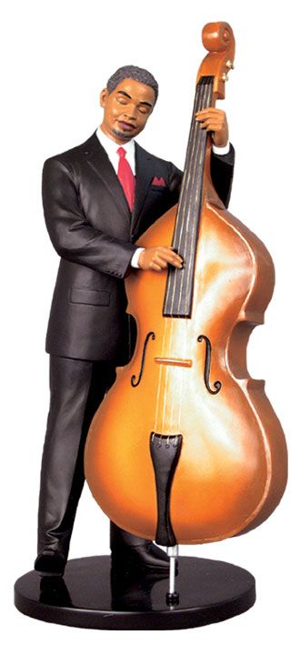 Jazz Figurine - Bassist