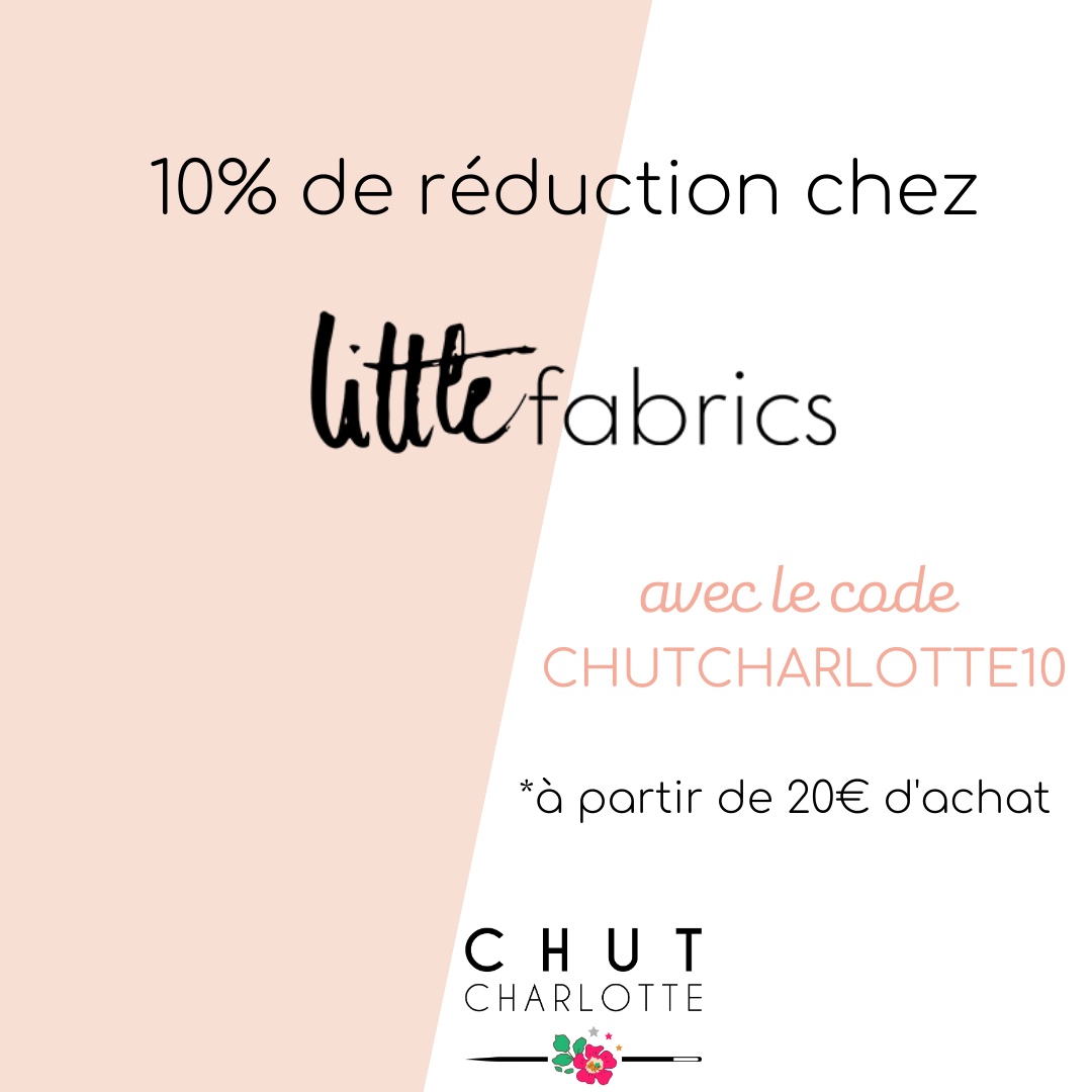 10% chez Little Fabrics !