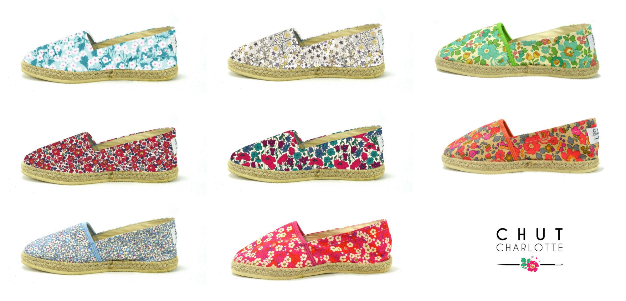 Les Espadrilles Liberty - Collection 2017 !