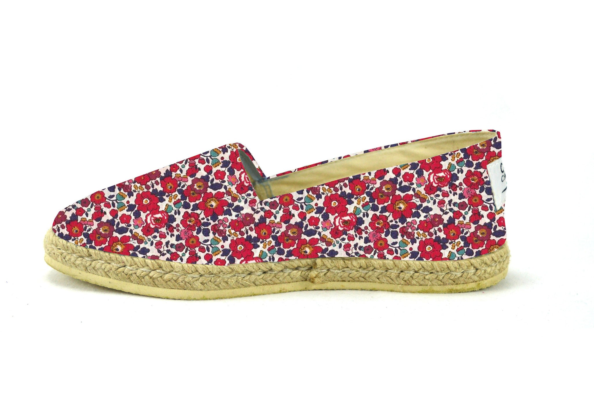 Espadrille habillée rouge MAAwM