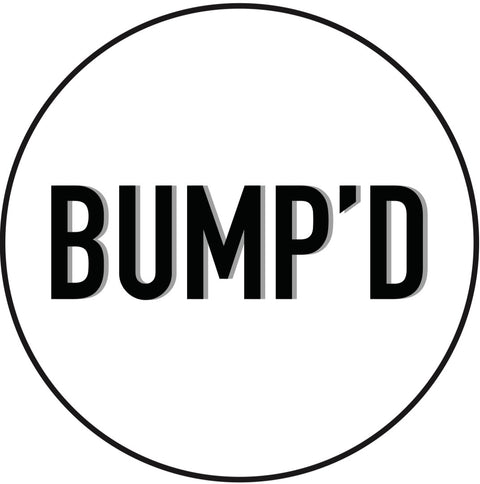 White Bump'D Smart Tag