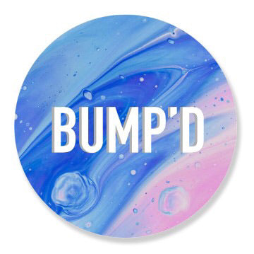 """Blue Space"" Bump'D Smart Tag 